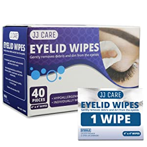 eye cleaning wipes