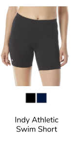Indy Athletic Swim Shorts