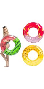 Inflatable Pool Tube Raft