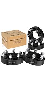 "6x5.5 to 6x5.5 Wheel Spacers 1.5"", 6x139.7mm Wheel Adapters to-yota 4Runner Tundra Tacoma FJ Cruiser"