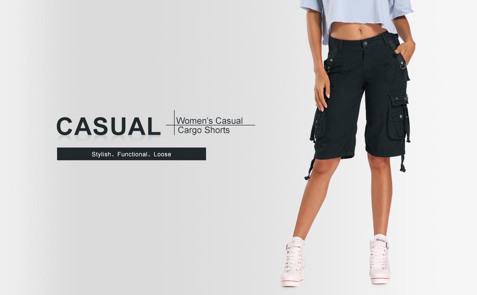 cargo shorts for women,shorts for women, cotton shorts for women