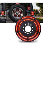Spare Tire Brake Light