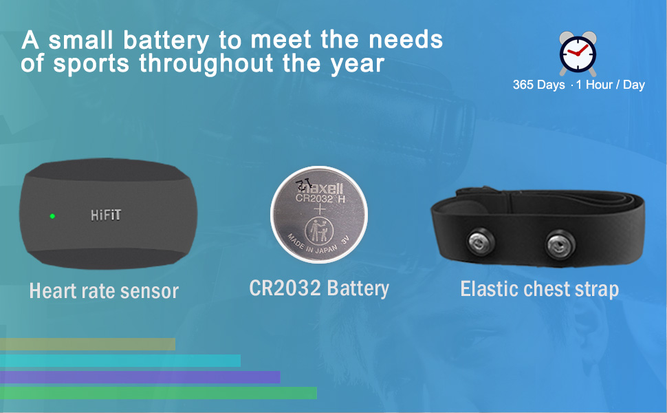 A small battery to meet the needs of sports throughout th e year