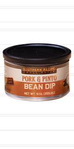 Pinto bean pork rind dip by southern recipe small batch