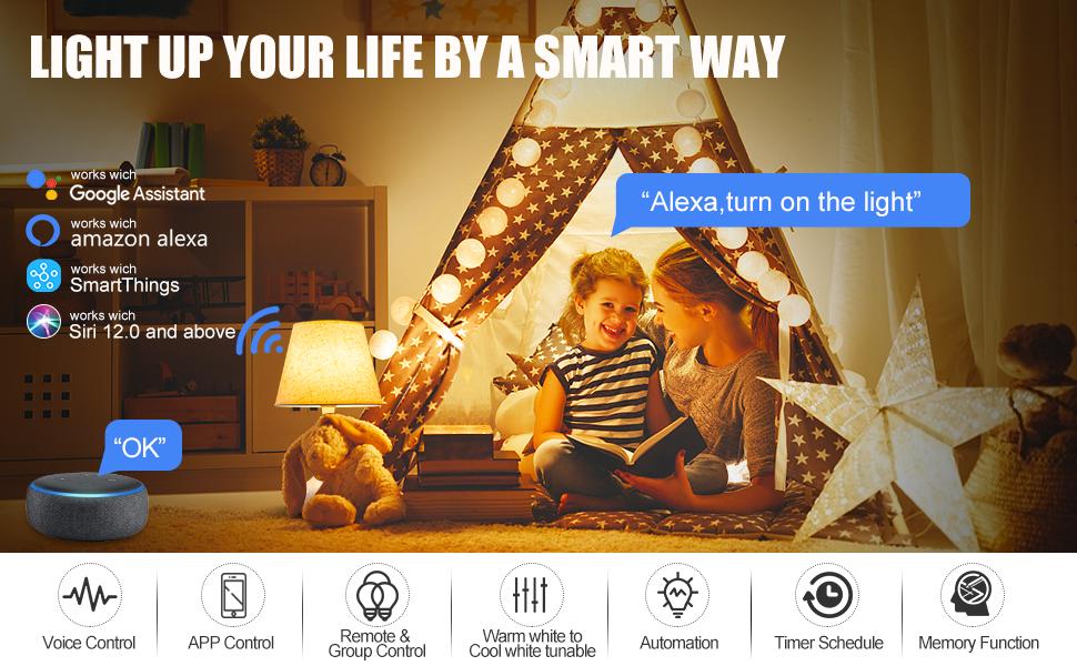 siri smart bulb