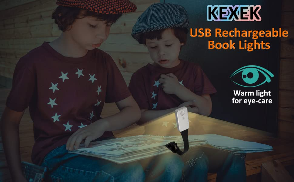 boys use book light