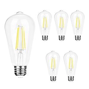 5000k non-dimmable led light bulb