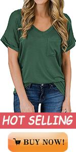 Rolled Sleeve Tops