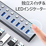 Elecife USB ハブ 3.0 Hub 7ポート