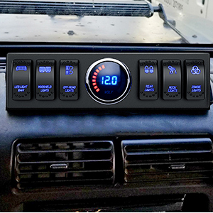Nilight 6 Switch Panel