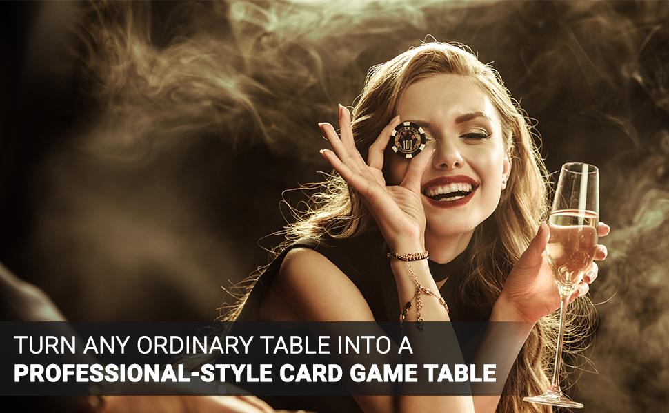 Poker Table Top Mats