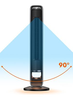 90° Oscillating Fan