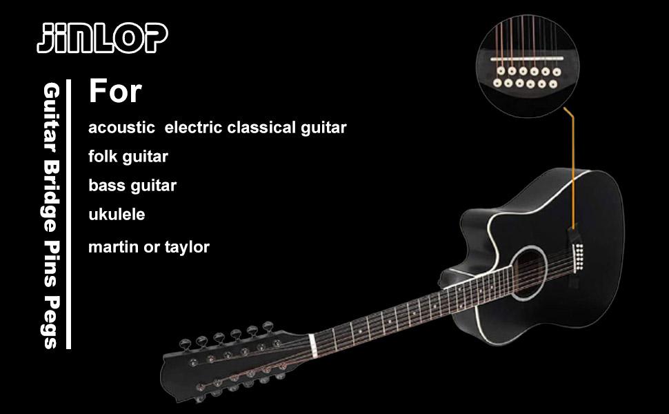 bridge pins for acoustic guitar