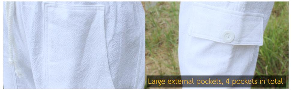 Four Pocket Army Pantaloons