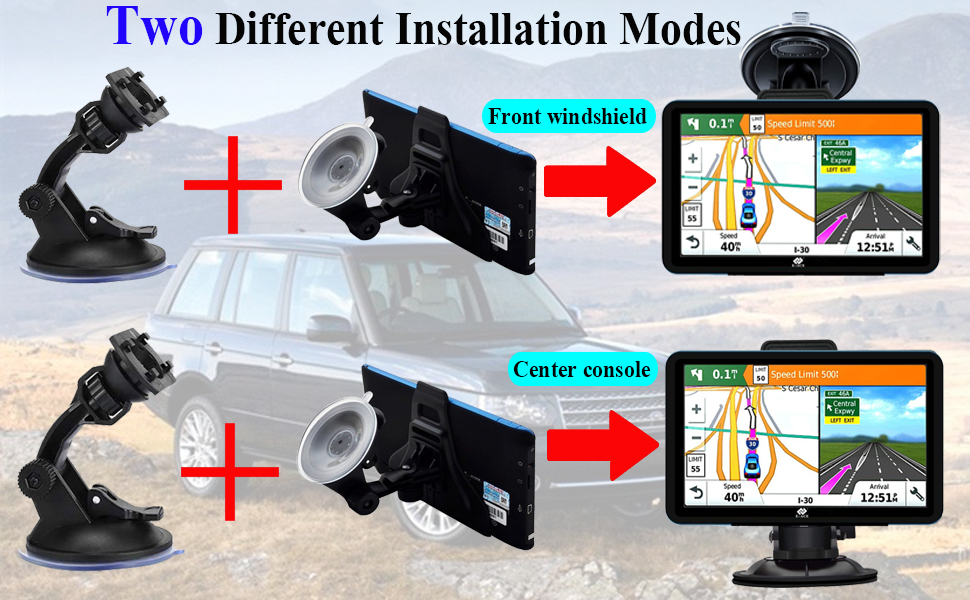 2 different installation modes