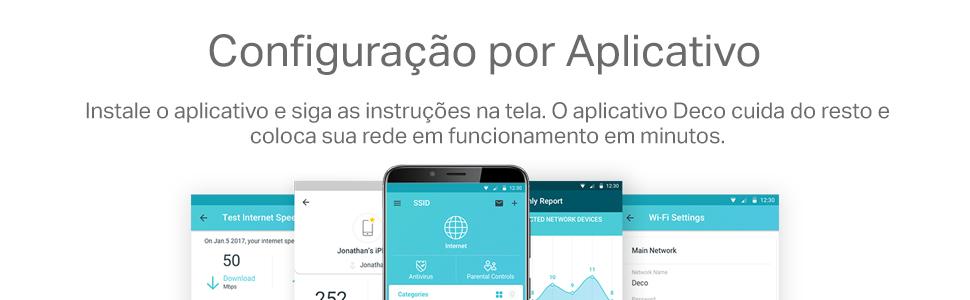 Configuração por aplicativo