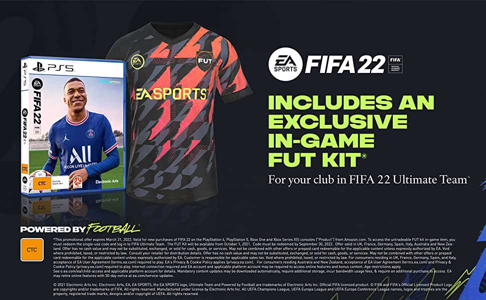 FIFA 22 Plus Edition Banner - PS5