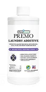 Premo Guard Bed Bug Killer Laundry Additive Detergent