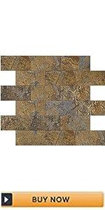 stone backsplash tile