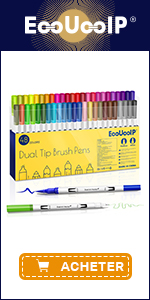 EooUooIP 48 Colors Fineliner Pens Marker