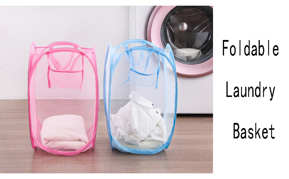 mesh laundry hamper