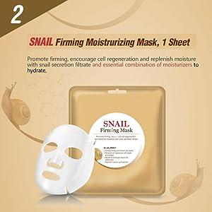 Snail Firming Moisturizing Mask