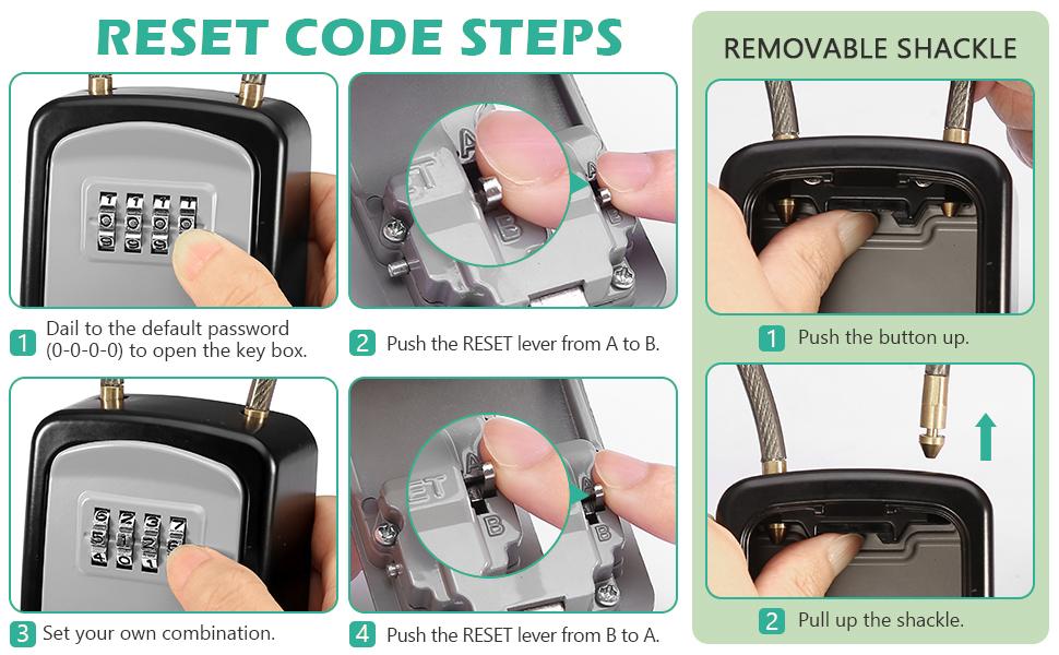 reset code