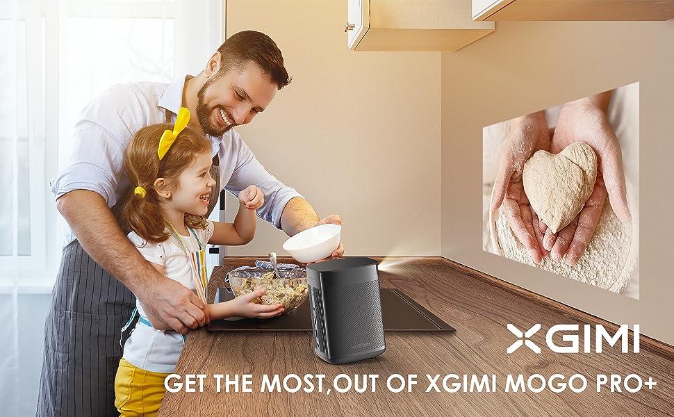 XGIMI Mogo Pro Plus Cooking Dinner