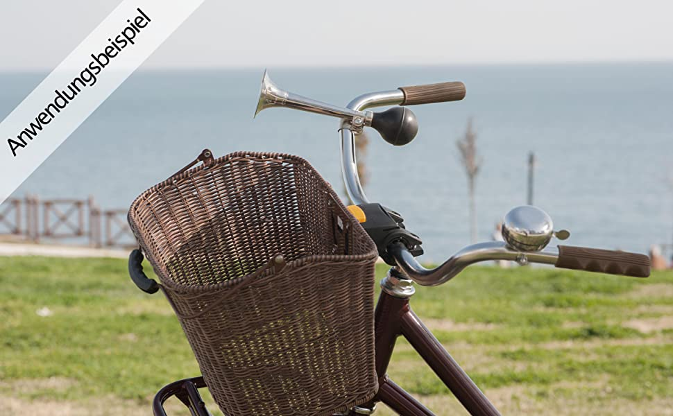 1X Fahrradhupe Ballhupe Fahrradklingel Fahrradglocke Metall Retro L1J7