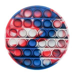 pop toy circle tie dye,