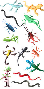 14Pcs insect bug kit
