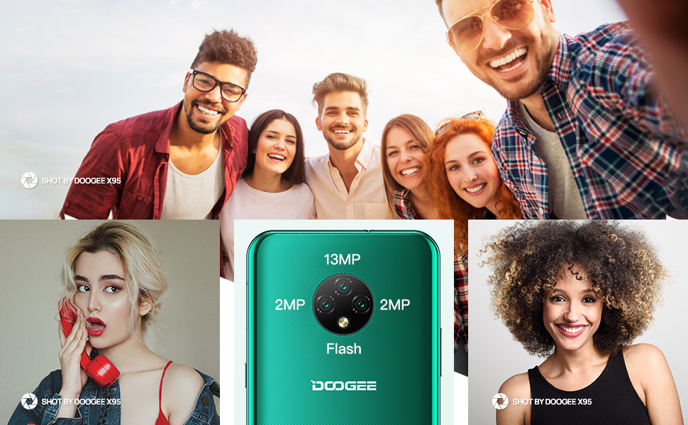 DOOGEE X95 mobile phones sim free unlocked