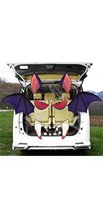 Bat Trunk or Treat Car Decorations