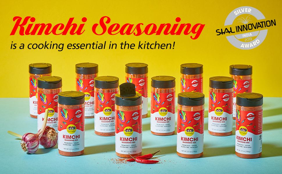 Seoul Sisters Kimchi Seasoning is awarded Silver for the food innovation award in SIAL India 2019.