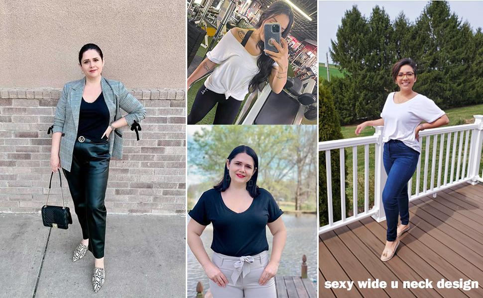 womens trendy tshirts