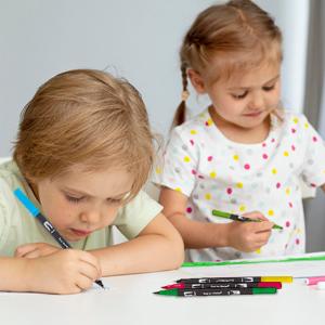 Farben Dual Tip Brush Pen