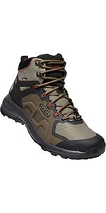 Men's explore Mid Height waterproof hiking boot outdoor
