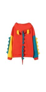 Dinosaur Hoodies Casual Sweatshirt