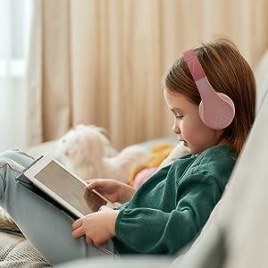headphones for kids, volume safe headphones, volume limited headphones, autistic headphones, headset