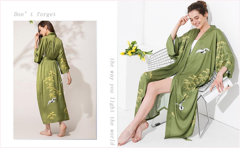 Aensso  Kimono robes