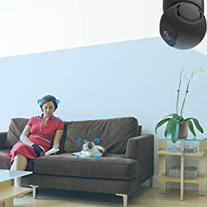 wifi camera with auto tracking