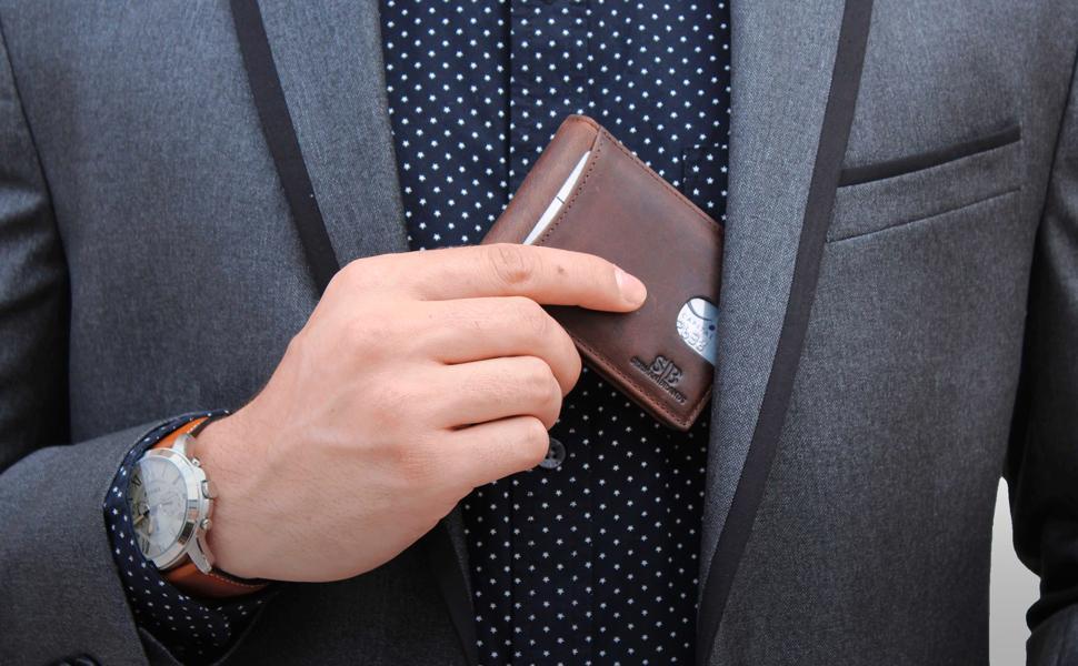 SERMAN BRANDS RFID Blocking Slim