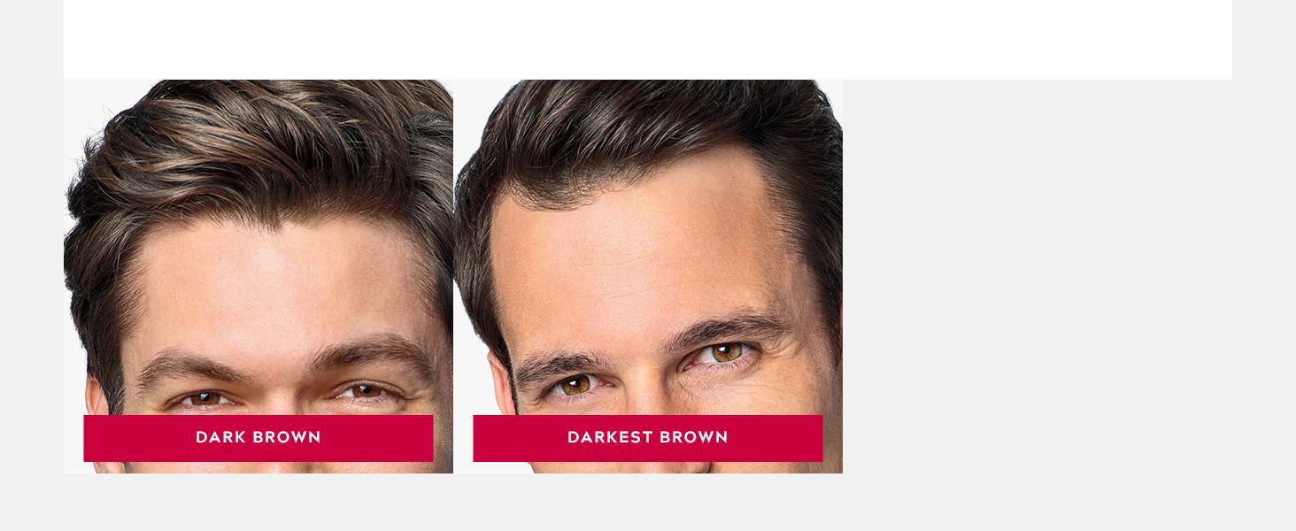 Shades: Dark Brown, Darkest Brown