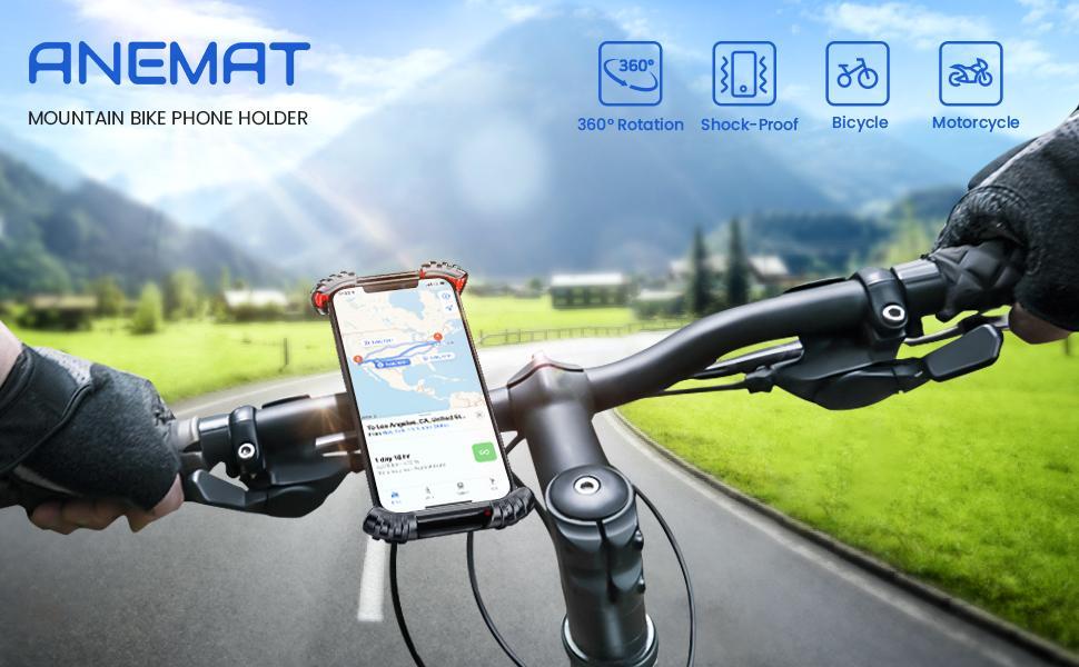 ANEMAT bike phone holder
