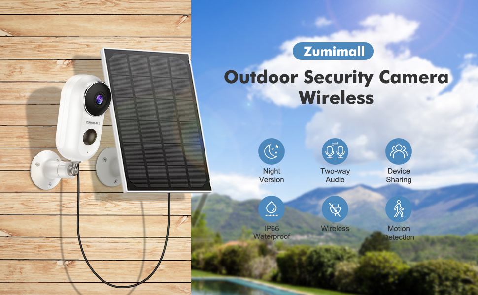 outdoor secuity camera wireless