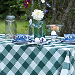 round tablecloth 60 inch light blue
