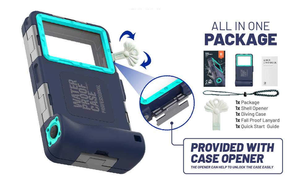 professional waterproof phone case