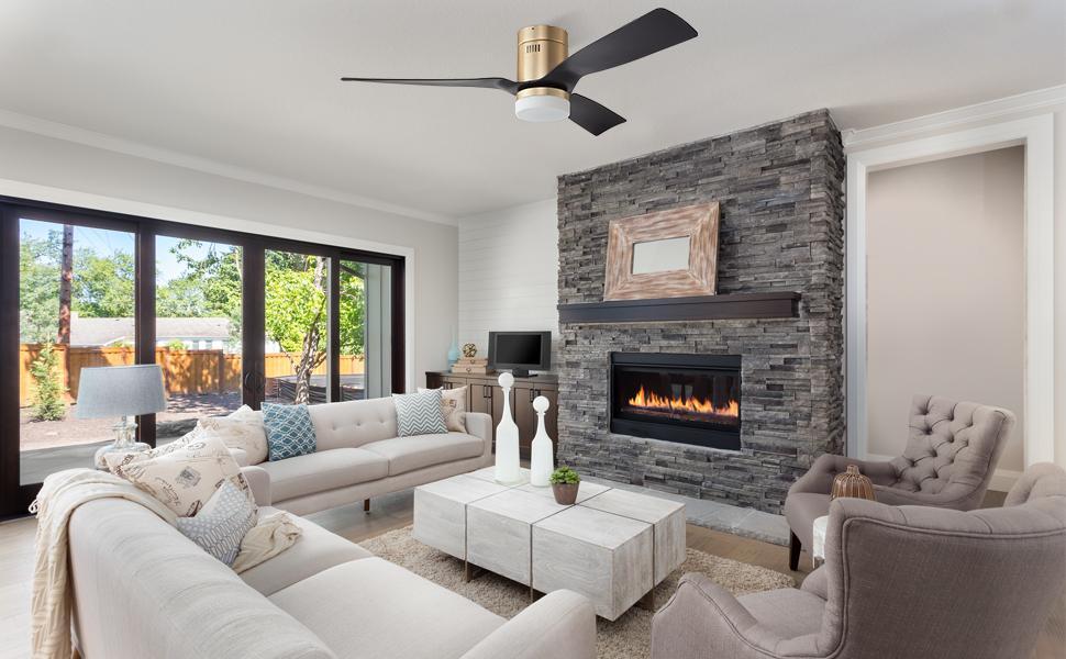 Smart Outdoor Ceiling Fan