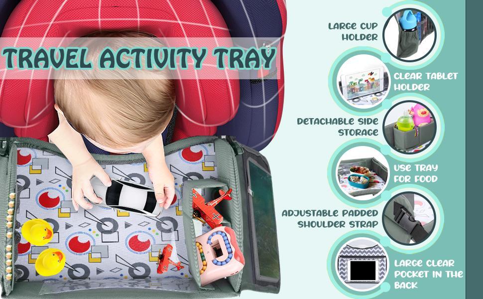 Lil Tots Gear Kids Travel Tray Key Points