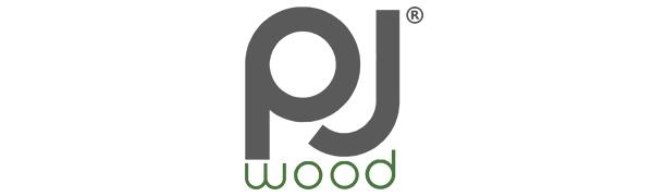 PJ Wood Folding TV Tray amp; Snack Table - Black